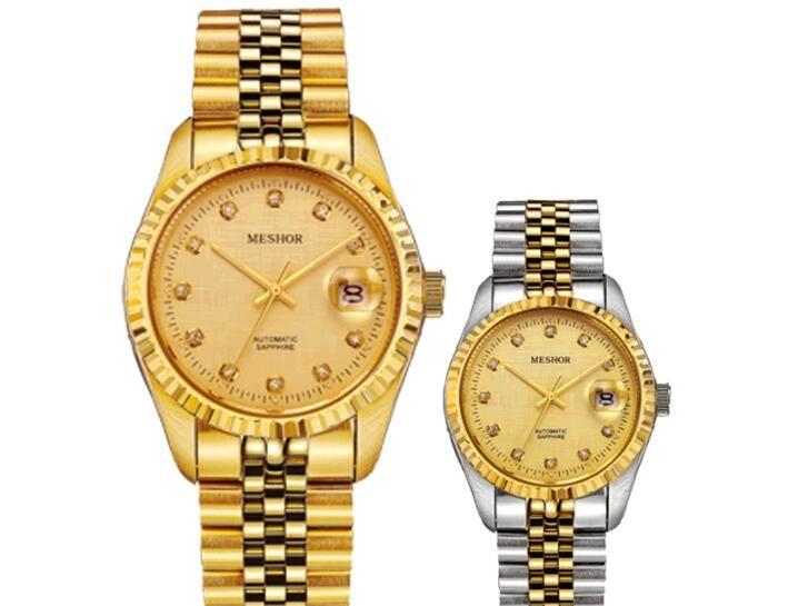 01c0cb2ed489 MESHOR Serie Constante De Reloj Mecánico Automático Para Hombres Reloj  Clásico Para Hombres Relojes Para Hombres Marca De Relojes Suizos 9003 De  Oro A ...