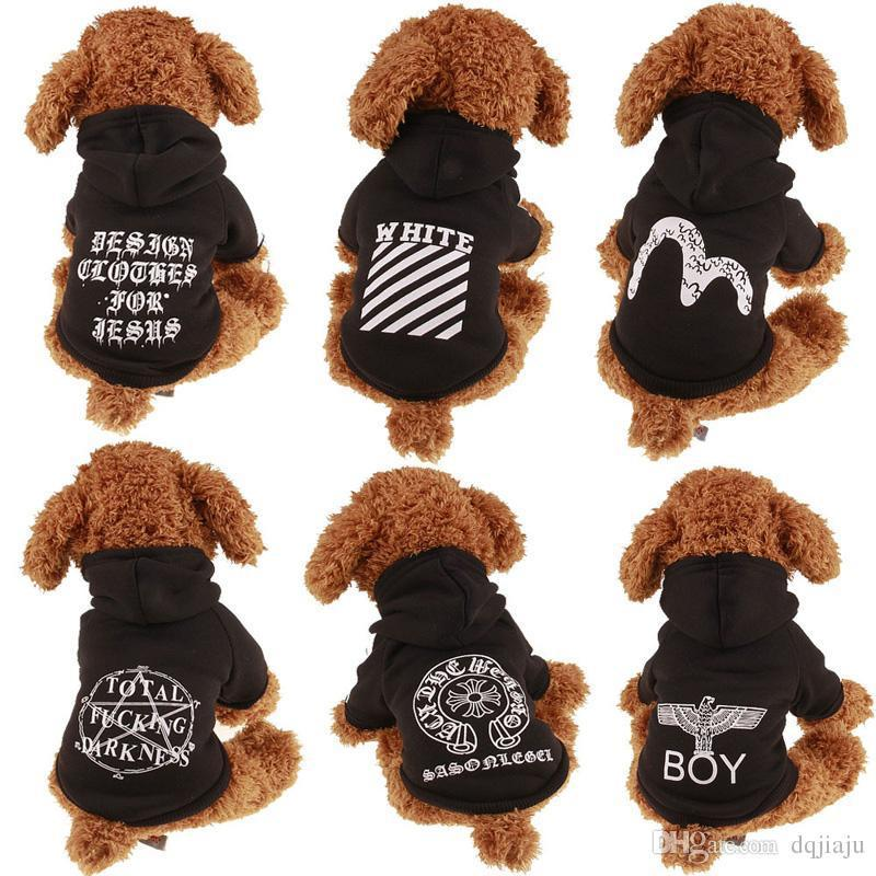 46bca7c9bb0f 2019 Ahl Teddy Dog Poodle Apparel Fashion Cute Dog Hoodies Pet Sweater Puppy  Black Jacket Soft Coat Summer Dog Clothes Outfit Winter From Dizitime, ...