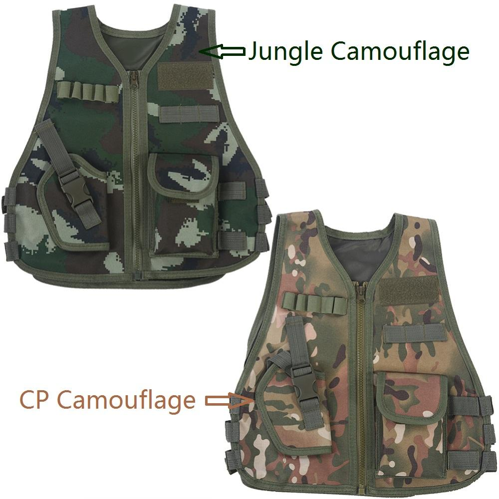 51edd7b6ec750 2019 Children Multiple Pockets Tactical Jacket Kid Breathable Quick Dry  Camouflage Vest Outdoor Adventure Hunting Game Vest From Gavinuni, $42.98 |  DHgate.