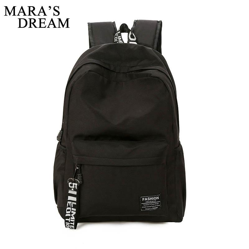 47322ffa08 Mara s Dream 2018 Women New Backpacks Summer Candy Color Solid Bag ...