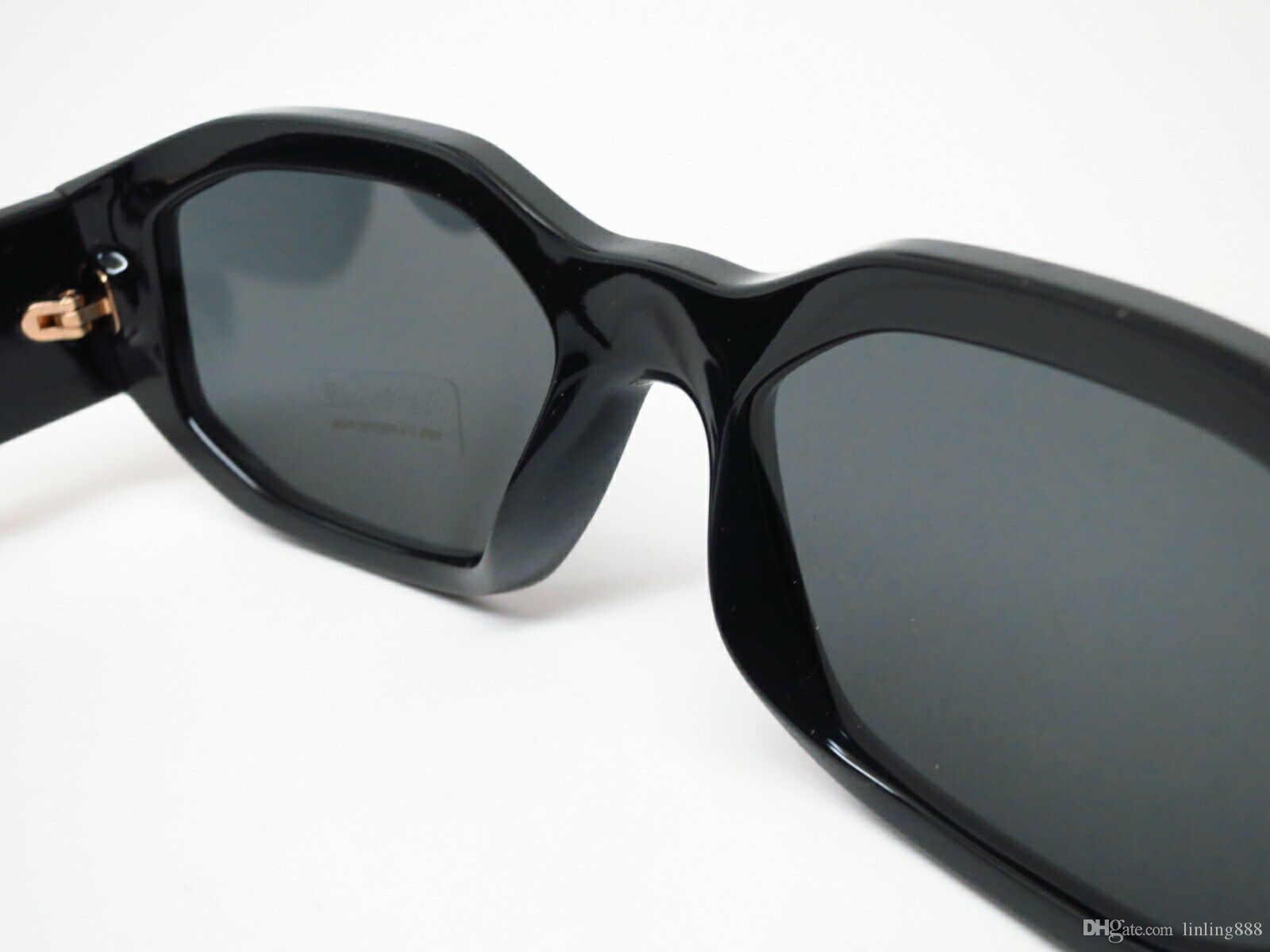 4361 GB1 / 87 أسود / رمادي نظارات رجالي 53 ملم للجنسين مصمم النظارات الشمسية النظارات الشمسية الفاخرة أزياء العلامة التجارية للرجال نظارات امرأة