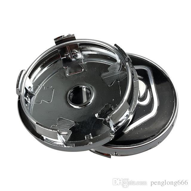 4pcs 60mm Car logo Wheel Center hub Cap rim Badge emblem For Dodge  Challenger SRT Hellcat Car accessories