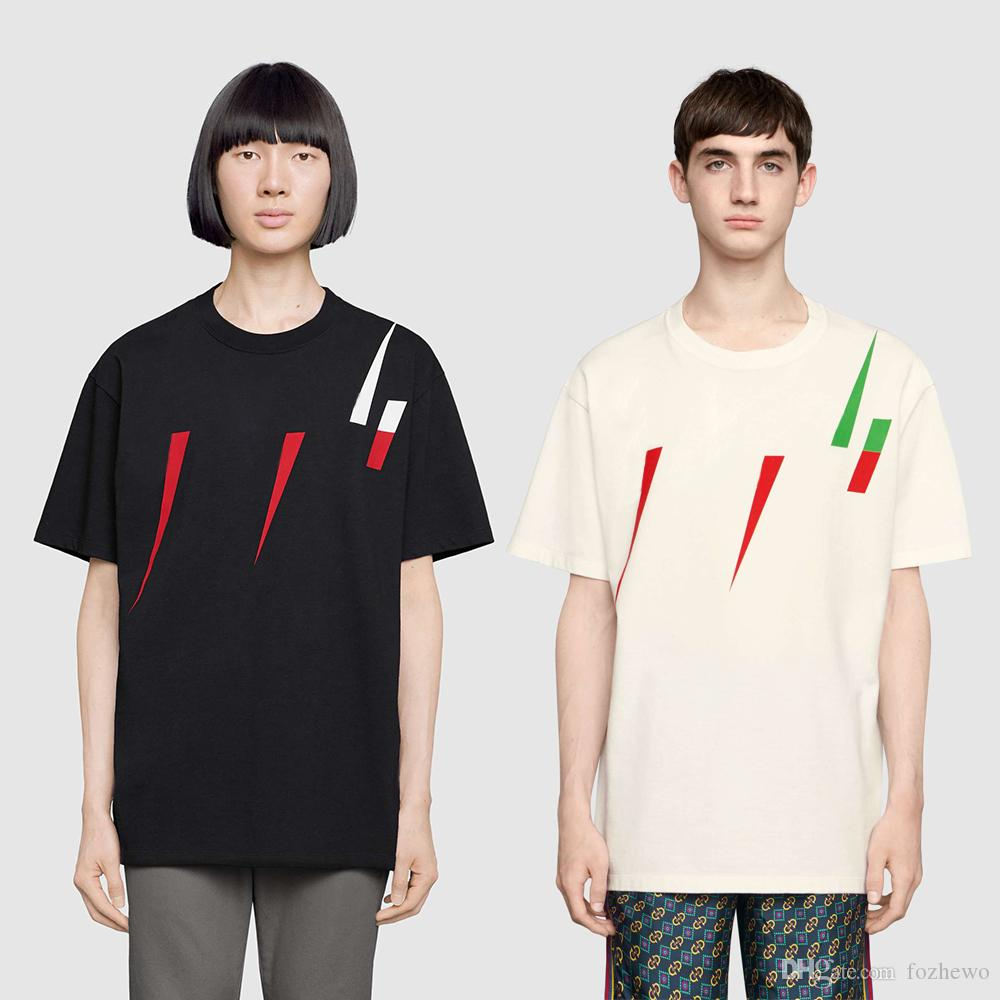 76027d70d17a New Fashion Mens Designer T Shirts Men Short Sleeve T-shirt with ...