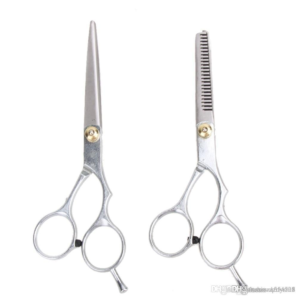 Hair Cut Cutting Barber Salon Scissors Shears Clipper Hairdressing Thinning 1PCS Free shippi