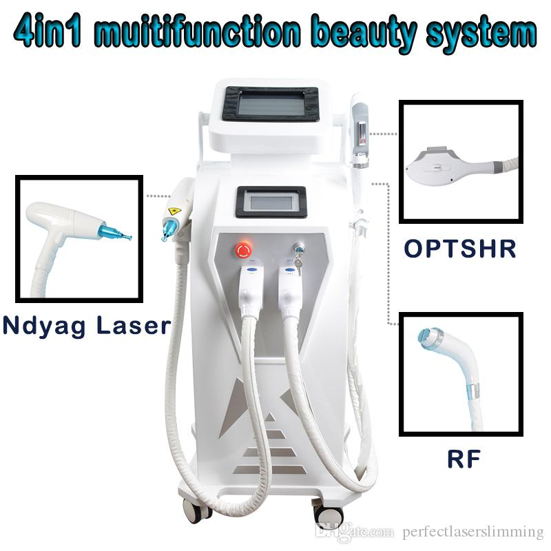 2018 new standing SHR OPT IPL RF face laser treatment for acne paint  remover machine cool face lifting machine