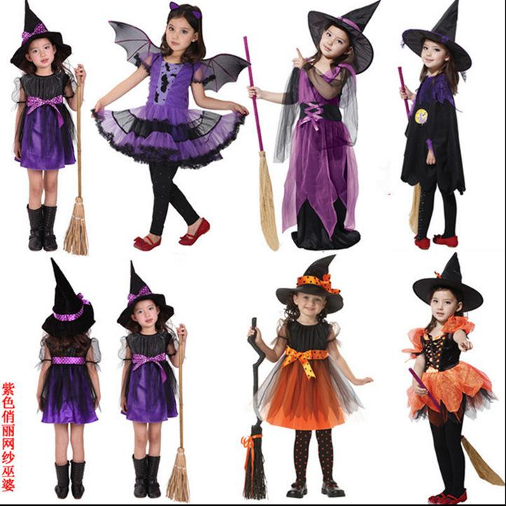 ostumes Accessories Cosplay Costumes halloween for kids vampire witch princess carnival costume kids girl children child kid witch fancy...