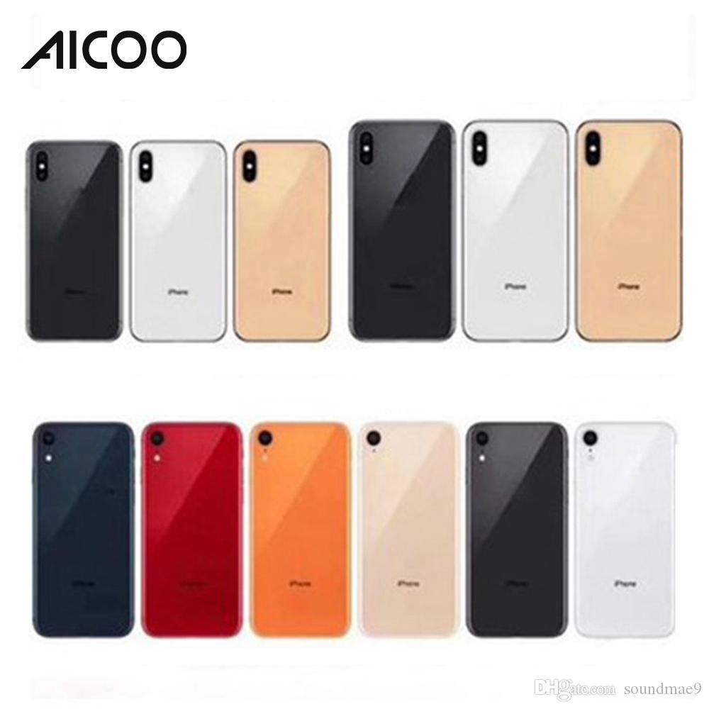 Fake Dummy Phone for iPhone XR 6 1 XS 5 8 XS Max 6 5 Glass Dummy Mobile  Phone Model Machine for Display Non-Working OPP