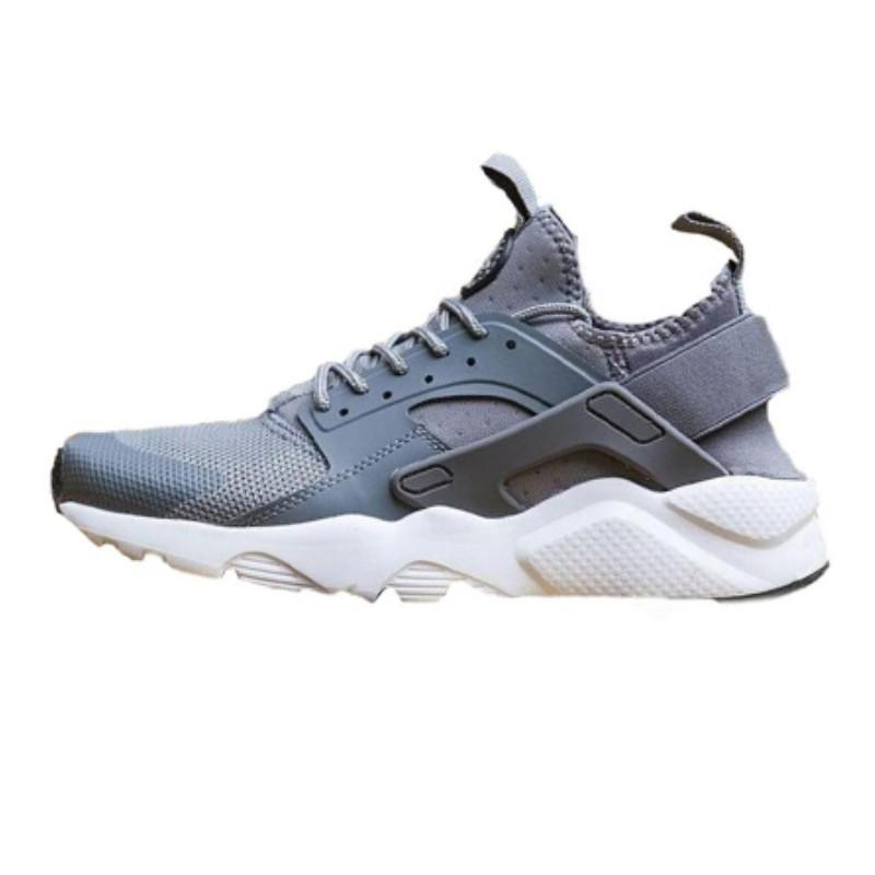 Huarache run ultra running shoes for men women triple black white red breathable mens trainer fashion sports sneakers runner size 365