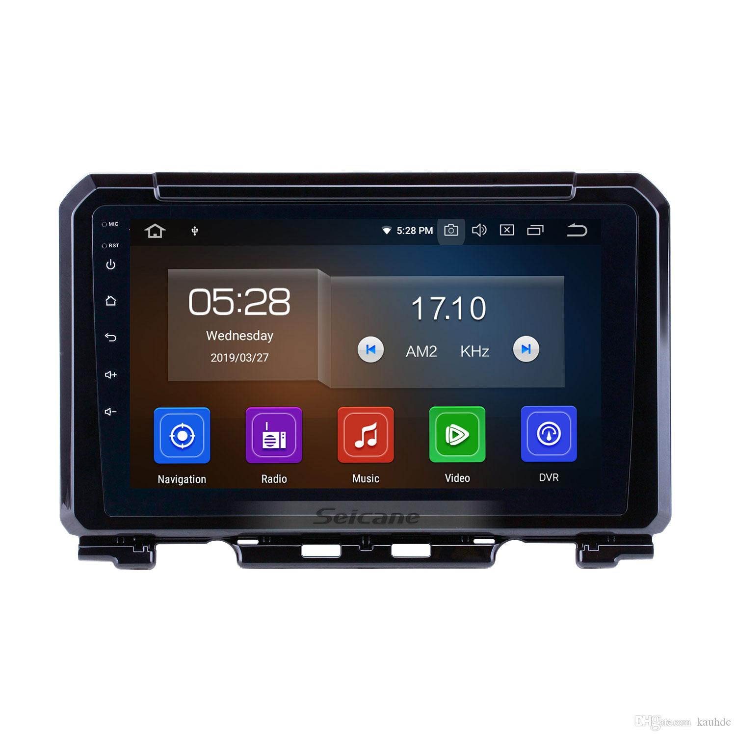 Quad-Core 9 Zoll Android 9.0 GPS Navi Autoradio für 2019 Suzuki JIMNY on