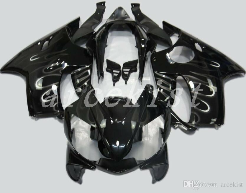 New Injection Mold ABS Fairing kit Fit for HONDA CBR 600 F4i fairings 2004 2005 2006 2007 CBR600 FS F4i 04 05 06 07 custom black