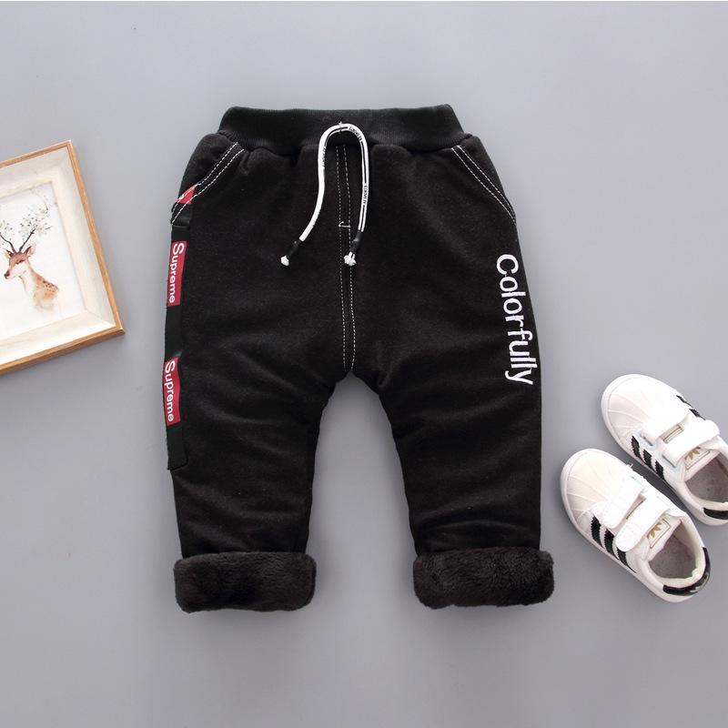 54e9d8a3a092 BibiCola 2018 Children Boys Pants Clothes Cartoon Casual Winter ...