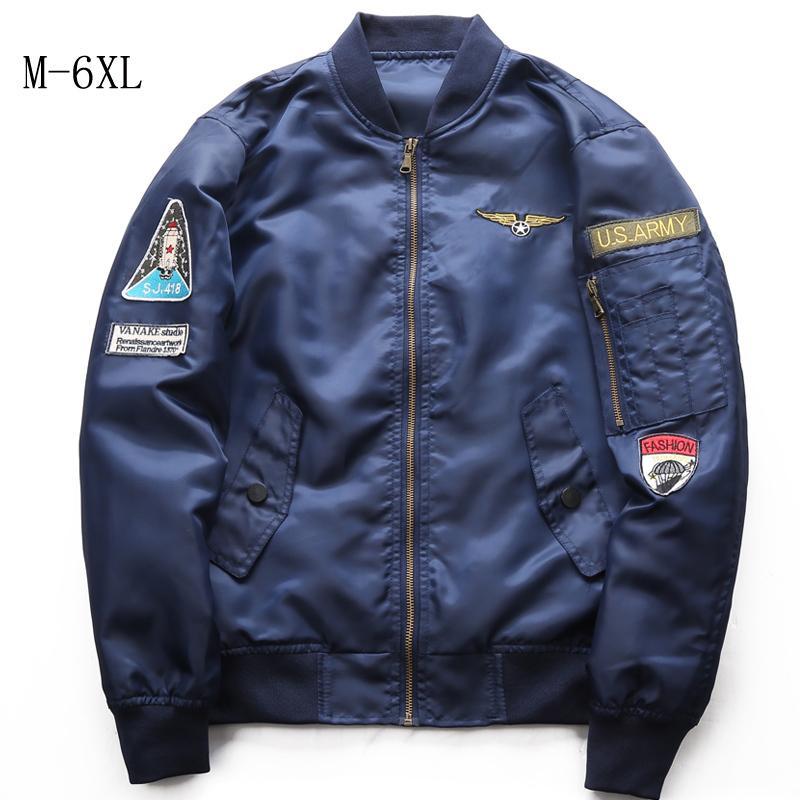 3419f3e91 Bomber Jacket Jackets Pilot Anarchy Men Army Green Merch Flight Coat  Streetwear Printed Jacket Men Waterproof