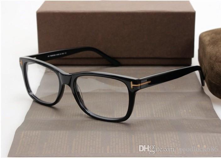 4671c23f07 Occhiali TF5176 montatura trasparente lenti Occhiali da vista miopia  occhiali Retro oculos de grau uomo e donna miopia montature da vista