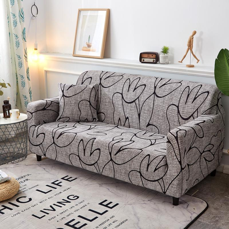 WLIARLEO All-inclusive Sofa Cover Big Elastic Cover For Couch Universal  Fabric Stretch sofa Flower Anti-Mite cubresofas