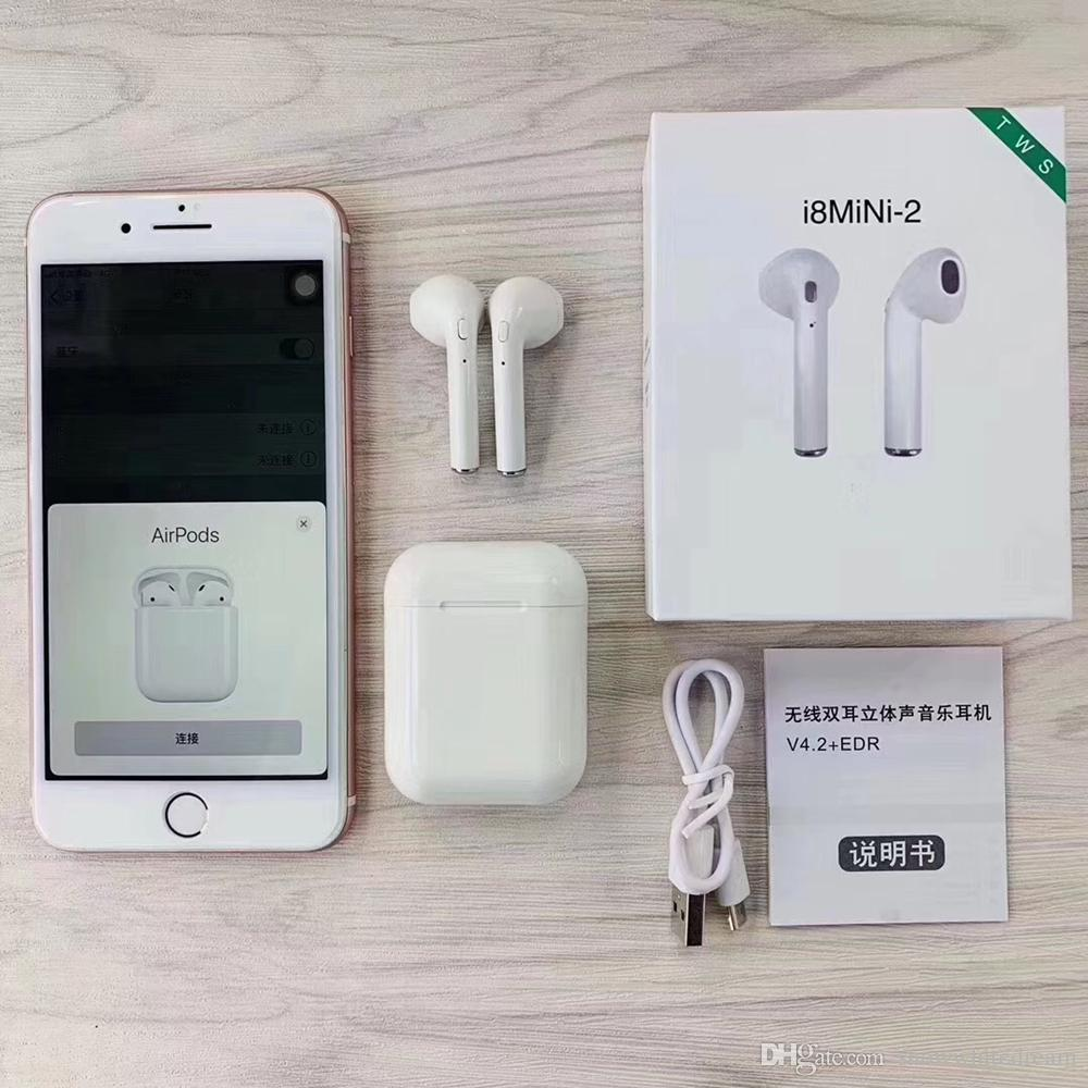 Casque Bluetooth Smartphone I7s I8 Mini 2 Tws Bluetooth 50 Casque D