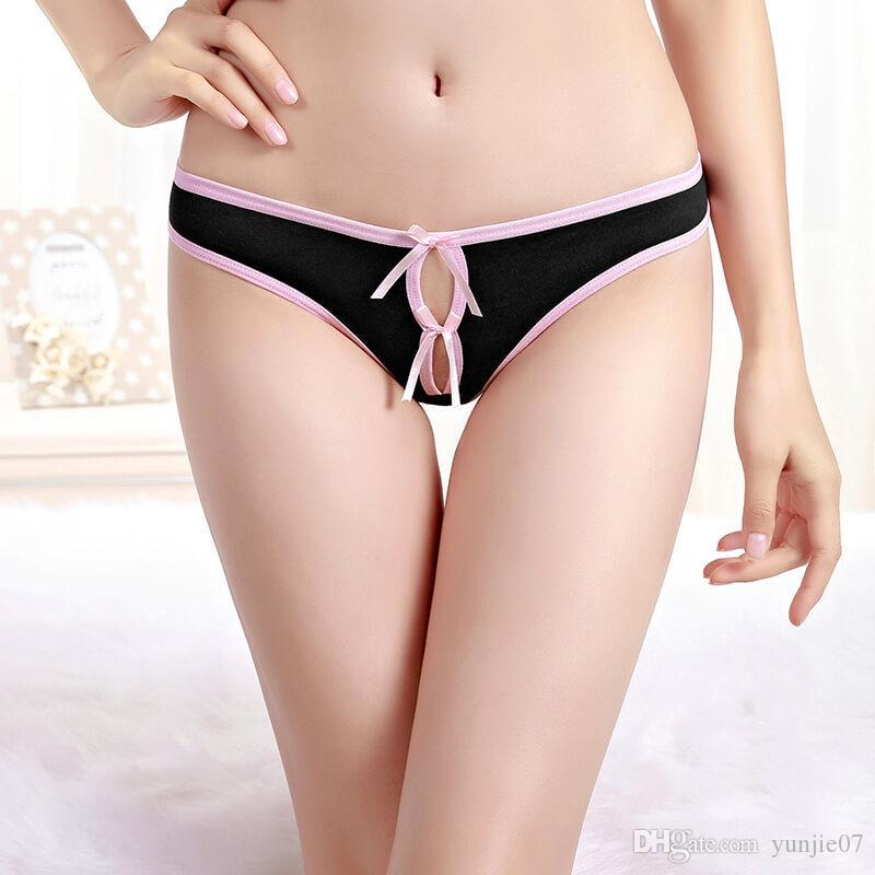 Mature woman thong panties
