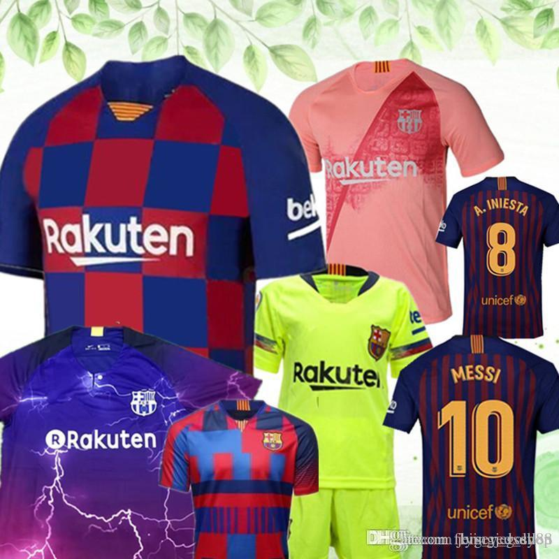 the latest c0551 8fcdd 10 Messi Third Barcelona Jersey 9 SUAREZ 3 PIQUE Men Woman kids 14 MALCOM  maillot de foot Barcelona Jerseys ARTHUR MALCOM