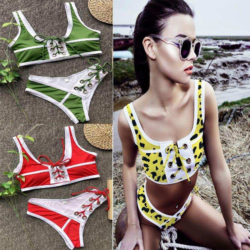 26eb96f86e19a Quality Women Swimwear Swimsuit Outdoor Sport Sexy Vest String ...