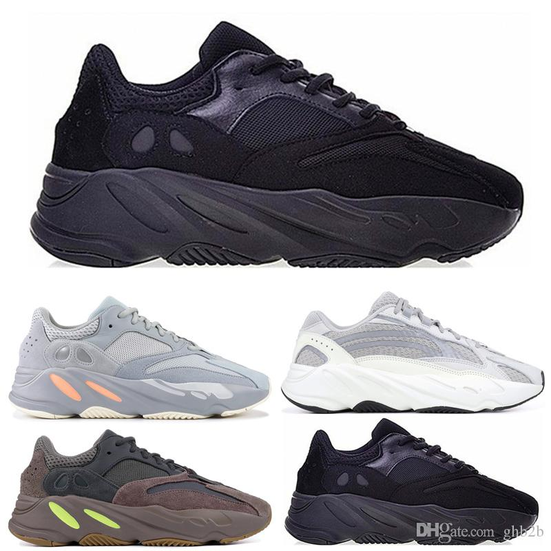 2019 Mauve 700 Wave Runner New 700 V2 Static Men Women Running Shoes With  Box Top Quality Kanye West Designer Sport Sneakers