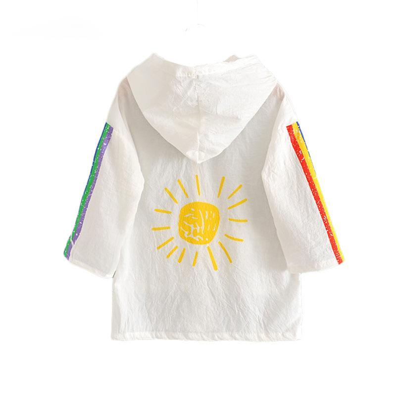 4f6a48415 ACE LOVE New Summer Sun Protection Kids Jackets for Girls Clothing ...