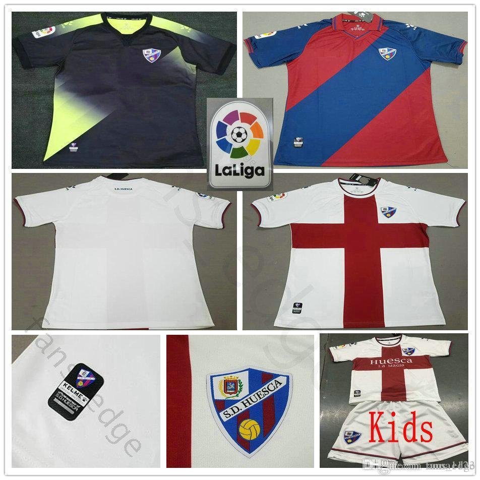 a825fd2274a 2019 18 19 SD Huesca Football Jerseys LEO FRANCO AXEL WERNER PABLO GOMEZ  INSUA Customize Home Away Man Kids Youth Soccer Jersey Shirt Uniform From  Anna1123