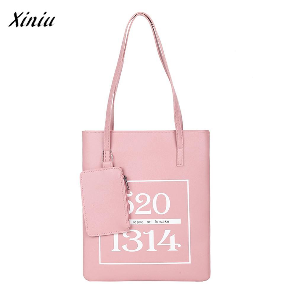 787b614db6ed Xiniu Luxury Handbags Women Bags Designer Fashion Letter Leather ...