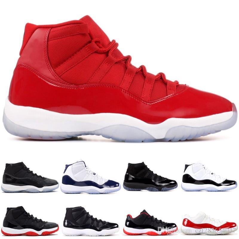 e952bd36d394a5 Concord 45 11 Platinum Tint Cap And Gown Basketball Shoes Midnight Navy Space  Jam Bred Gym Red Men Women 11s Sports Sneaker With Box Basketball Trainers  ...