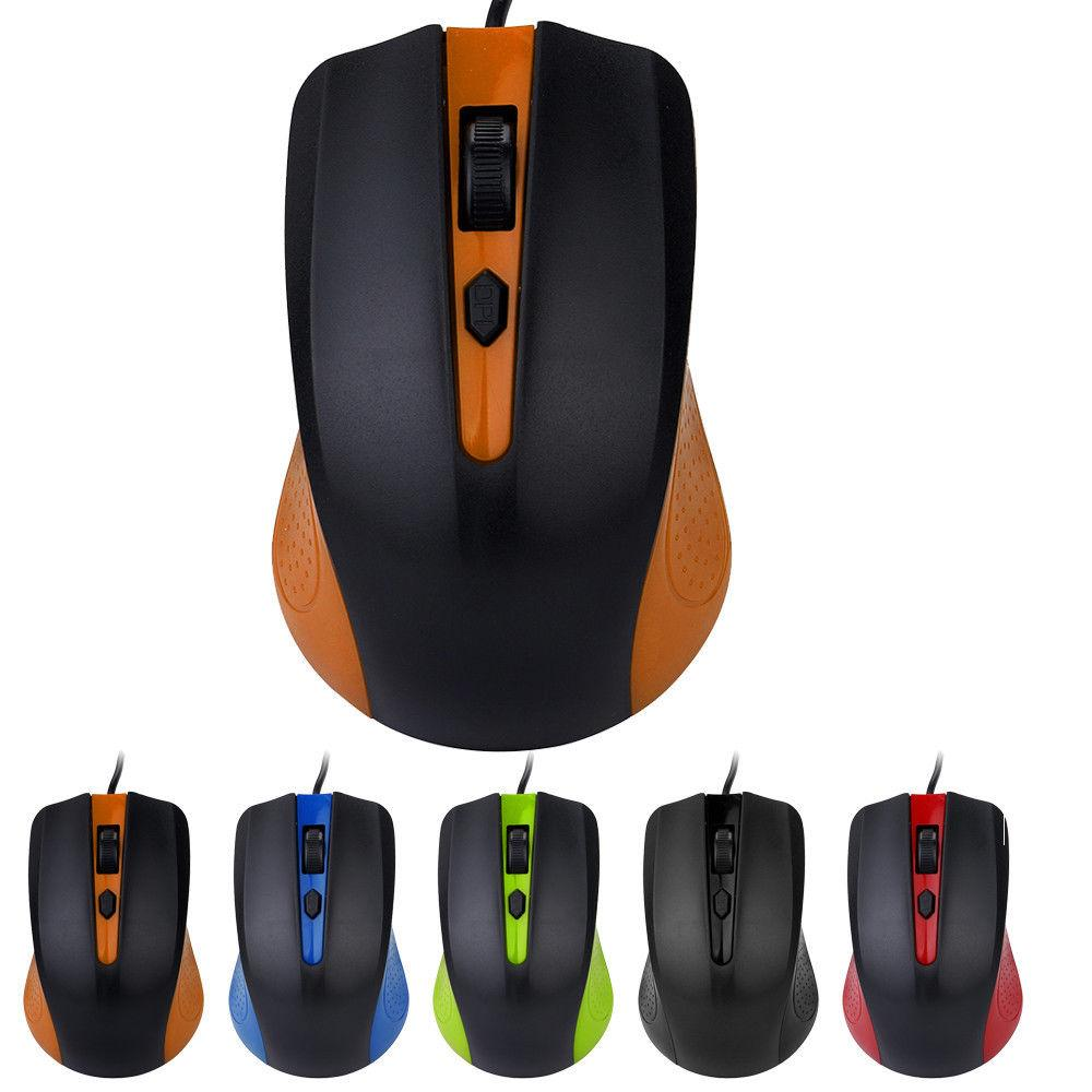 USB 2 0 Optical Wired Scroll Wheel Mouse Mice for PC Laptop Notebook  Desktop Gaming Mouse Optical Mice For Computer