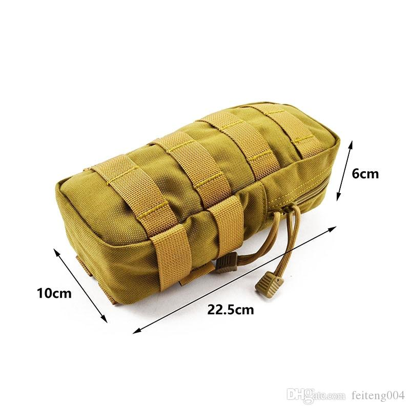 MOLLE Miscellaneous Pouch CORDURA Modular Combat Hunting Camping Climb Tactical Hike Outdoor TW-P009 #613905