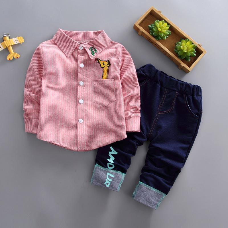 7f4d2a5e8c58 2019 Good Quality Boys Spring Autumn Clothing Sets Children Boys ...