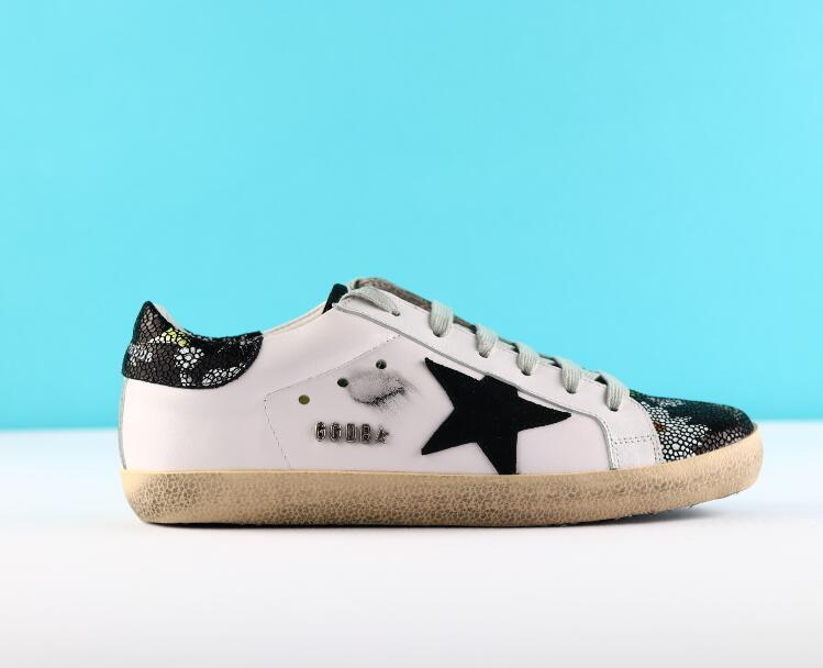 d9b7c08c2d dsf sneakers lace up Golden Goose Ggdb Genuine Leather Villous Dermis  Scarpe di lusso scarpe Luxury Superstar trainer 36-46
