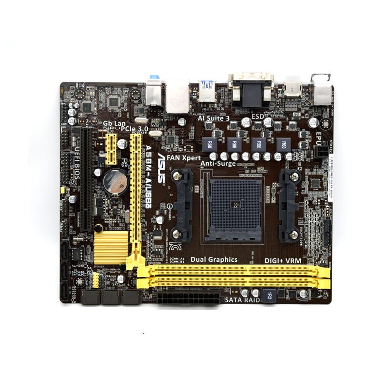 ASUS a58m-a /USB3 FM2/FM2+A58 motherboard DDR3 supports X4 860 8760k