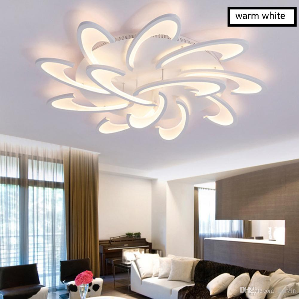 Surface Mounted Modern Led Ceiling Lights For Living Room Bedroom Dining Room Lighting Fixtures New Led Chandelier Ceiling Lamps Ceiling Lights & Fans