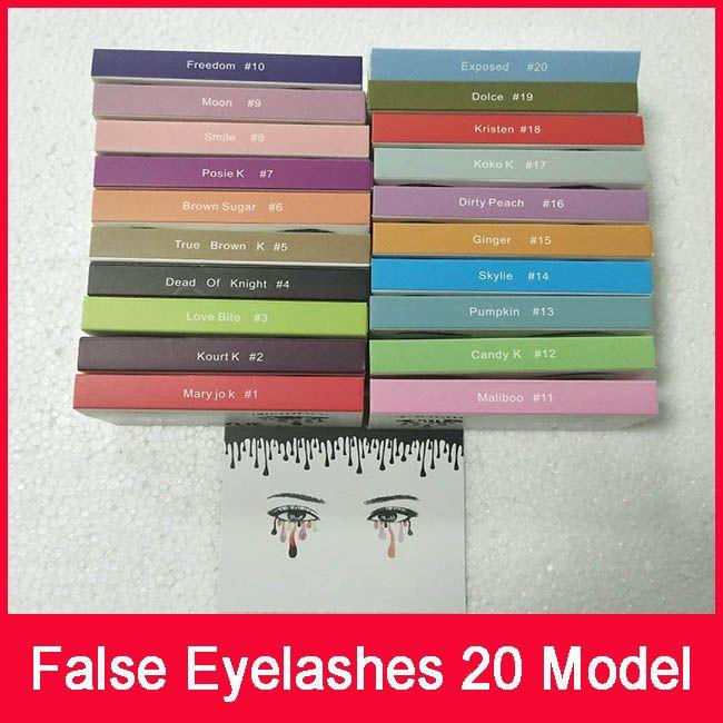 c765e063248 Kylie False Eyelashes 20 Model Eyelash Extensions Handmade Fake Lashes  Voluminous Fake Eyelashes For Eye Lashes Makeup Acrylic Nail Supplies  Airbrush Nails ...