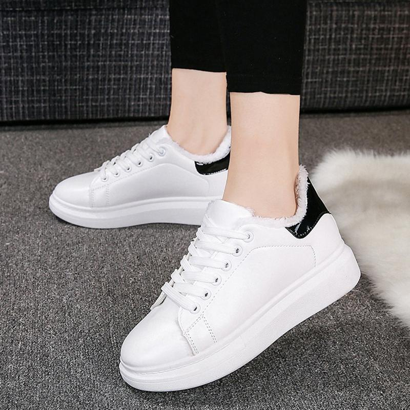 d40469a8d8 2018 Autumn Small White Shoes Women'S Platform Sneakers Shoes Casual Women  Office Shoes High Heels From Tradingmk, $30.12  DHgate.Com