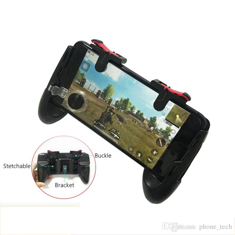 Pubg Game Gamepad For Mobile Phone Game Controller l1r1 Shooter Trigger Fire Button For IPhone For Knives Out Top