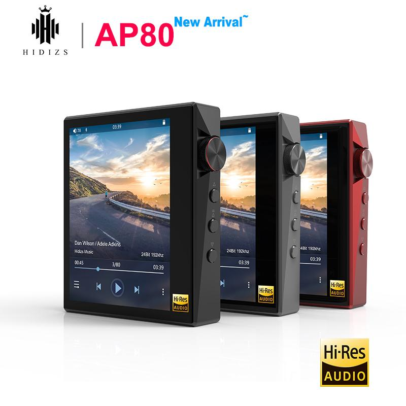 Hidizs AP80 Hi-Res ES9218P Bluetooth MP3 Player HIFI Lossless Music LDAC USB DAC DSD FM Radio HibyLink DAP FLAC Audio Player