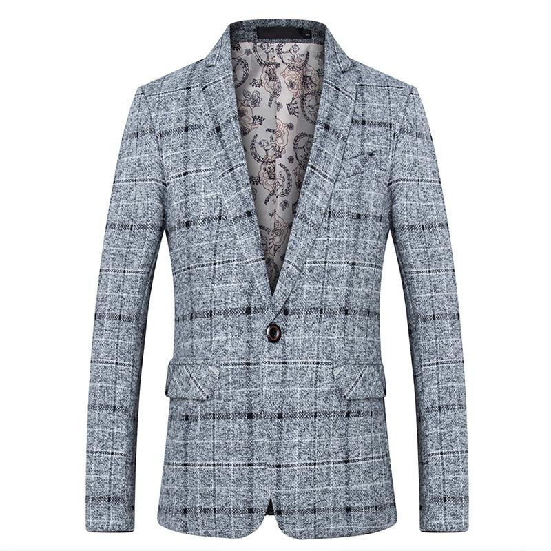 2019 Fashion Spring Suit Brand 2018 New Arrival Clothes Men Blazer Fashion  Slim Male Suits Casual ASIAN Size M 5XL From Lichee666 d5af1259d
