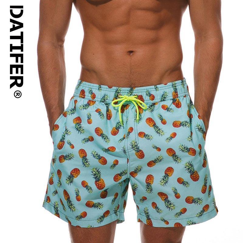 fd92484816af DATIFER Hombre Trajes de baño Pantalones cortos de secado rápido Traje de  baño Tallas grandes Ropa de playa Calzoncillos Sport For Men ES3Y XXXL ...