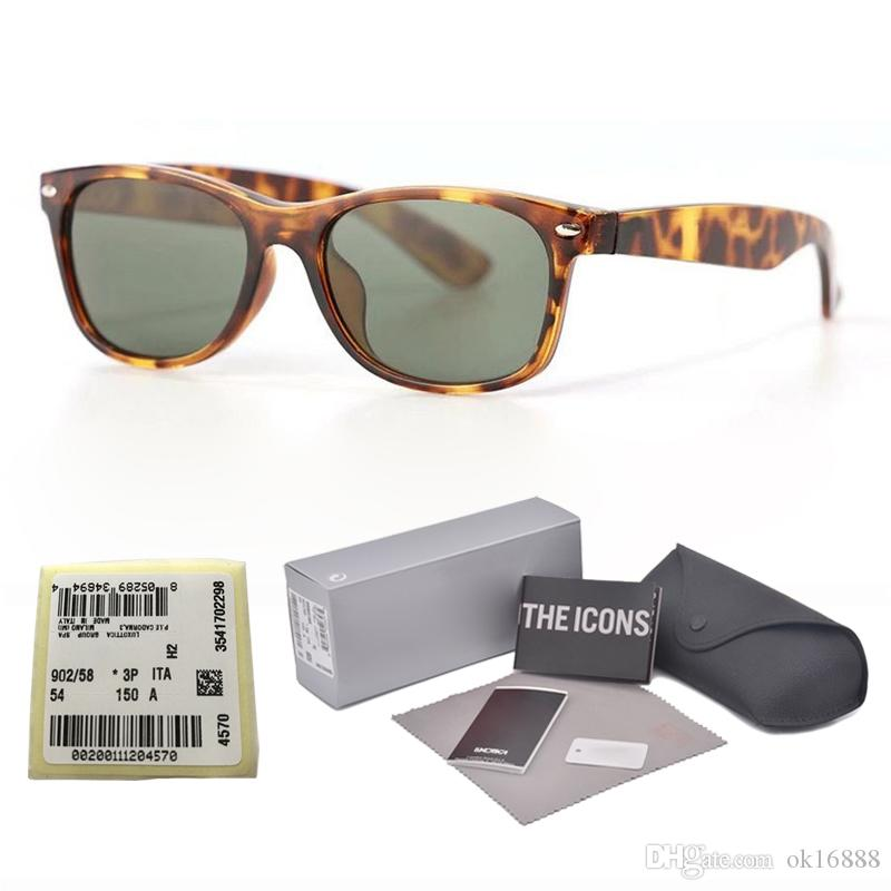f4e4283705 New arrival Brand Designer sunglasses for men women Mirror glass lens  fashion plank frame Metal hinge with free original cases and label