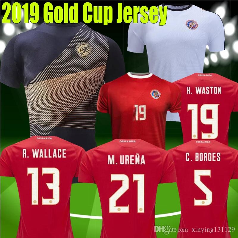 Gold Cup 2019 Costa Rica jerseys 19 20 M UREÑA Costa Rica soccer jersey  2018 G gonzález CAMPBELL WALLACE K WASTON football shirt