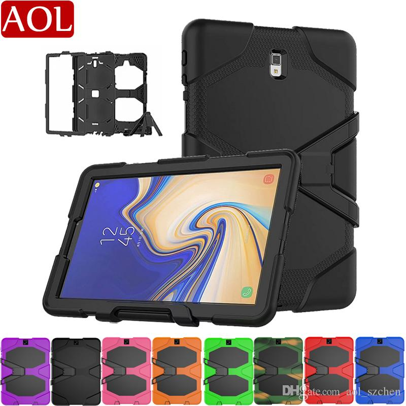 Armor Case For Samsung Galaxy Tab S3 9.7 T820/T825 S4 10.5 T830/T835 Shockproof Hybrid Impact Military Defender Protective Cover
