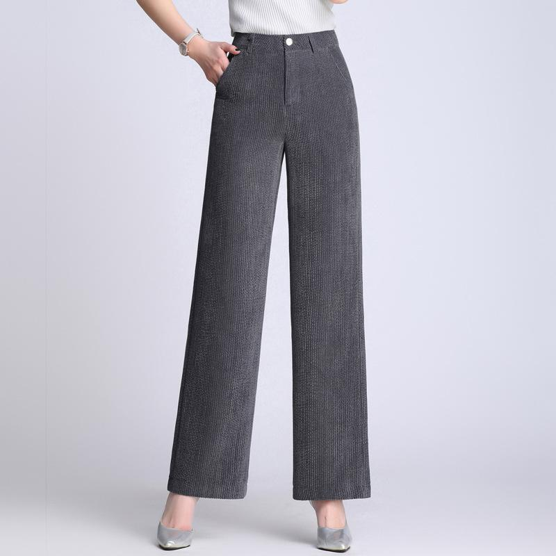 3b8f13b5794e6 2019 Women S Autumn Spring Casual Boot Cut Pants Multicolour Plus Size  Candy Color Mid Waist Slim Flare Trousers UK 2019 From Beenling