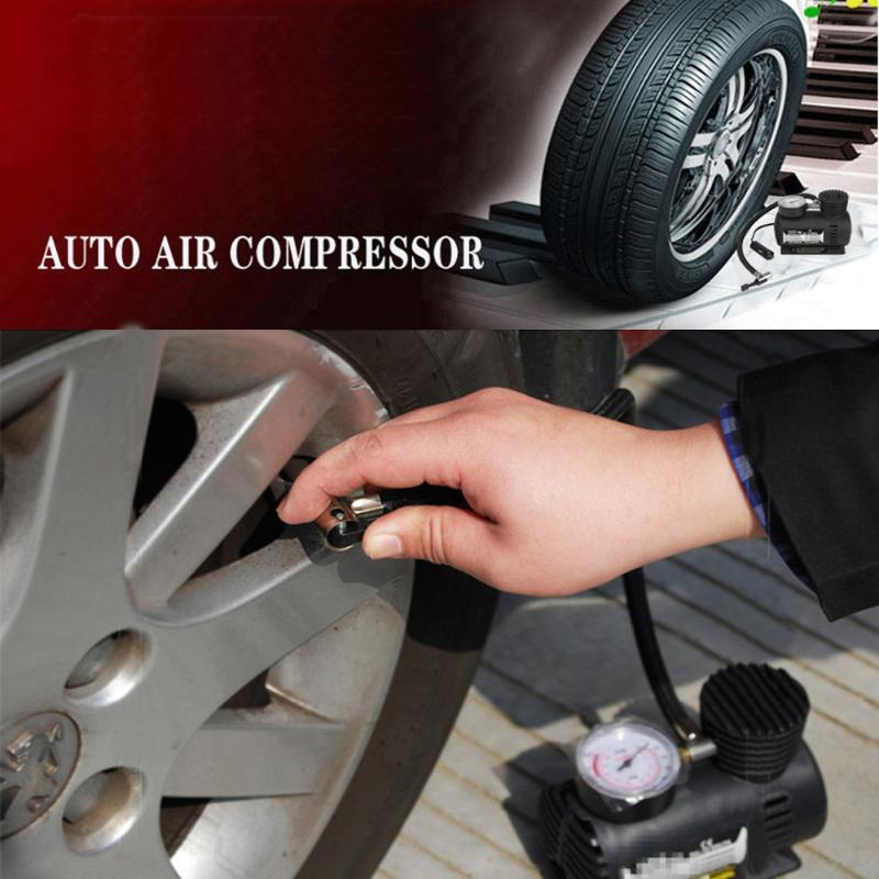 Car Auto 300PSI C300 12V Mini Air Compressor Car Tire Air Inflator Pump 300PSI C300 12V Mini Compressor #Zer