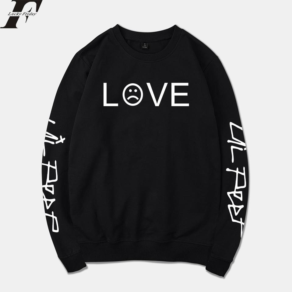 Compre 2018 Lil Peep Sudaderas Con Capucha Hombre   Mujer Sudadera  Streetwear Moda R.I.P Chándal Sudadera Con Capucha Suelta Ropa Unisex A   32.49 Del ... d75ea53888e