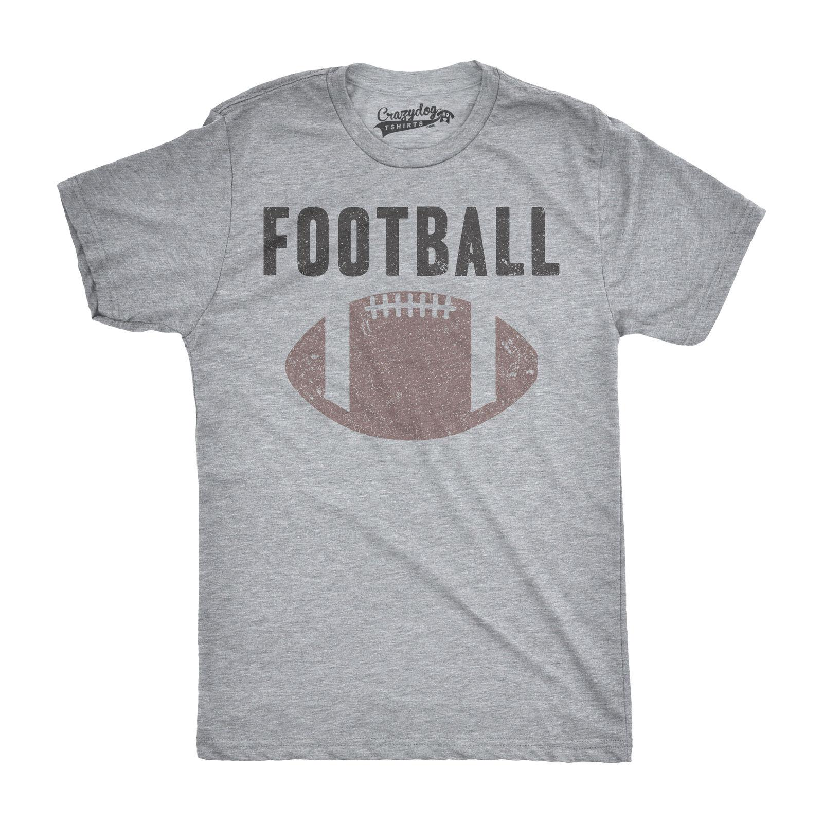 88771310 Mens Vintage Football Text Sports Distressed Football Laces Sporty T Shirt  Print Fitness O Neck Printed Fashionable Round Basic Tee Shirt Online  Shopping 24 ...