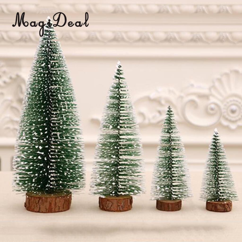 Magideal Artificial Tabletop Christmas Tree Decor Xmas Treetop Decor 10cm 15cm 20cm 25cm 30cm Picks