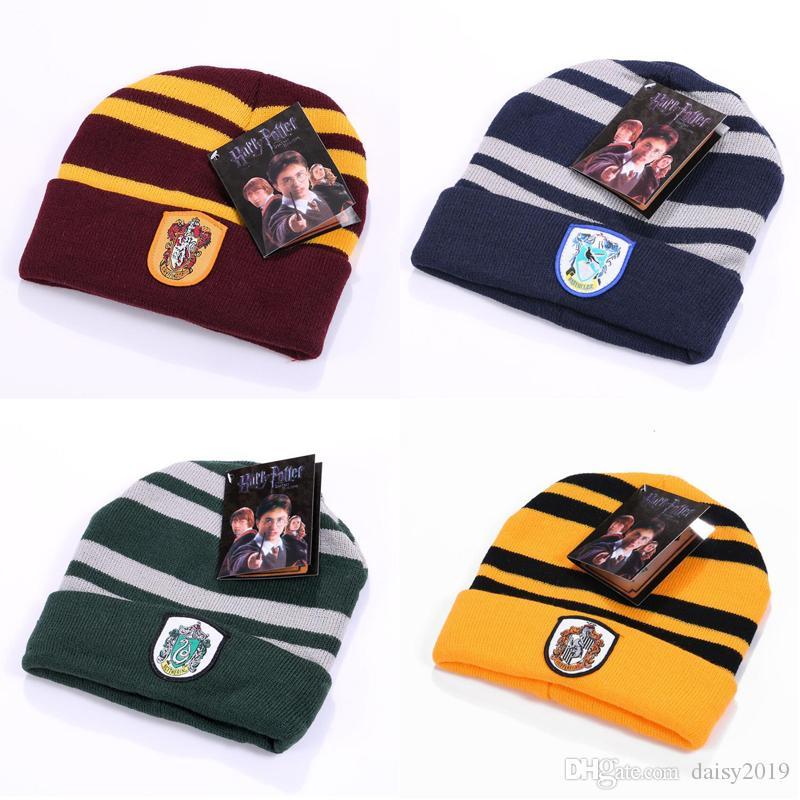 2319c299a27 2019 New Harry Potter Gryffindor Cap Hat Dobby S Hat Soft Warm Costume  Halloween Gift Christmas Gift Anime Cosplay Hats From Daisy2019