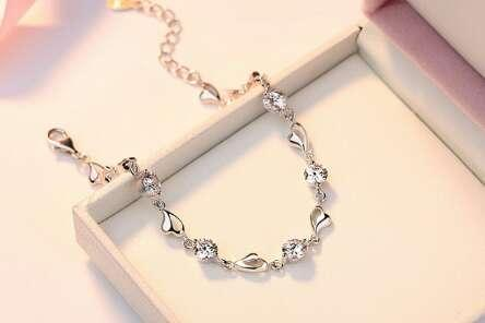 c54c0ae963 The New Popular S925 Sterling Silver Bracelet Tide Version Couple Simple  Individual Forest Girls 520 Gifts Can Be Wholesale Silver Charm Bracelet Uk  Create ...