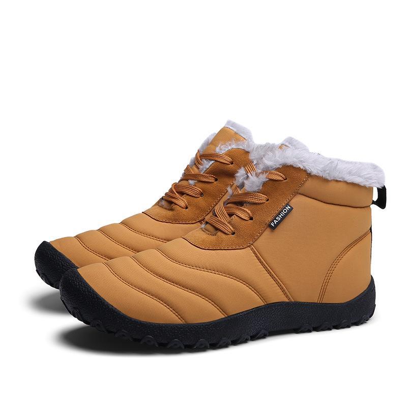 64de204b3e Compre Masorini Homens Sapatos De Neve De Inverno Homem Botas Ankle Boots  De Leve E Quente Botas De Chuva Dos Homens À Prova D 'Água Botas De Neve No  ...